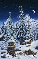 Christmas With The Elves Fine Art Print