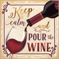 Pour the Wine Fine Art Print