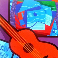 Homage To Juan Gris Fine Art Print
