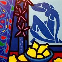 Homage To Matisse 1 Fine Art Print