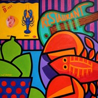 Homage To Rock Lobster Fine Art Print