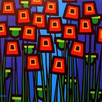 Night Poppies Fine Art Print