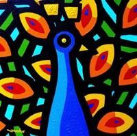 Peacock 3 Fine Art Print