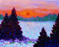 Snowscape Fine Art Print