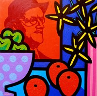 Still Life With James Joyce Fine Art Print