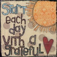 Start Each Day Fine Art Print