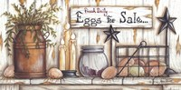 Eggs For Sale Framed Print