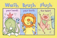 Wash-Brush-Flush Fine Art Print
