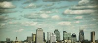 Downtown Nashville After Sunrise Fine Art Print