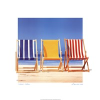 Summer Stripes Fine Art Print