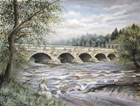 Summertime Pakenham Bridge Fine Art Print