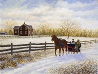 Winter's Day Fine Art Print