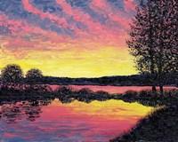 Summer Sunset Fine Art Print