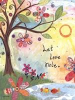 Let Love Rule Fine Art Print