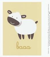 Barn Baby Baaa Fine Art Print