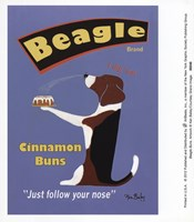 Beagle Buns Fine Art Print