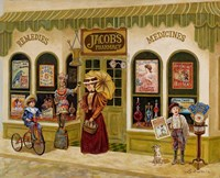 Jacob's Pharmacy Fine Art Print