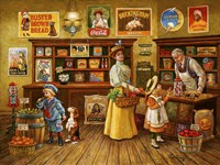 Country Store Fine Art Print
