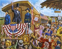 Lincoln to Washington Fine Art Print