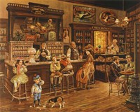 Turn of the Century Drug Store Fine Art Print