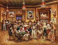 Western Saloon Fine Art Print