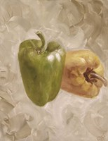 Sweet Peppers II Framed Print