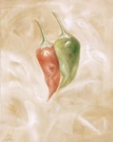 Hot Peppers I Framed Print