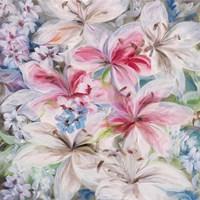 Lily Patch Framed Print