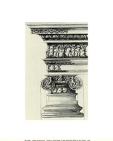 English Architectural II Framed Print