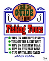 Fishing Tours Fine Art Print