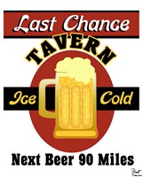 Last Chance Tavern Fine Art Print