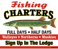 Fishing Charters Fine Art Print