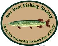 Fishing Society Liars Club Fine Art Print