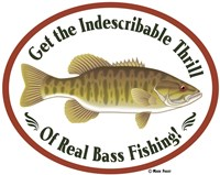 Thrill Of Bass Fishing Framed Print