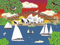 Dream of Sydney Fine Art Print