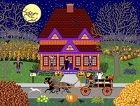 Pumpkin House Fine Art Print