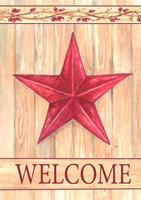 Barn Star Welcome Fine Art Print