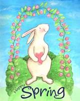 Happy Spring Bunny Fine Art Print
