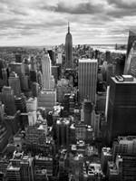 NYC Downtown II Framed Print