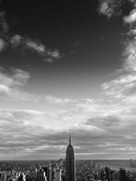 NYC Manhattan Sky Framed Print