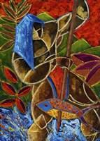 Guarani Hombre De Familia Fine Art Print