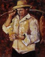 Jibaro De La Costa Fine Art Print