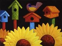 Midnight Garden Fine Art Print