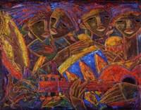 Musas Del Caribe Fine Art Print