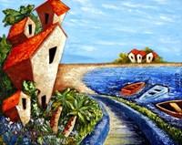 Ocean Village Fine Art Print