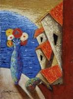 Ventana Al Mar Fine Art Print