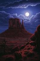 Navaho Moon Fine Art Print