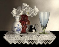 Still Life With Hardanger Fine Art Print