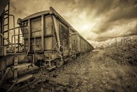 Lost Train Fine Art Print
