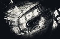 Sanat stairs Fine Art Print